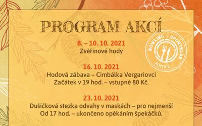 Program akcí – podzim 2021